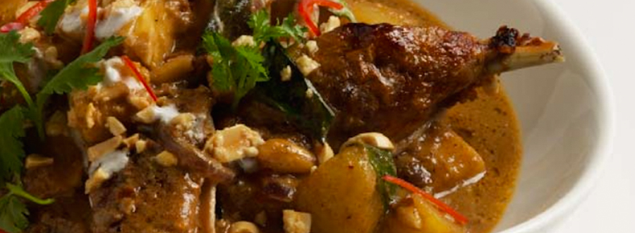 Duck, Pineapple and Peanut Massaman Curry