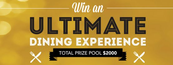We're Giving Away 4 Ultimate Dining Experiences!