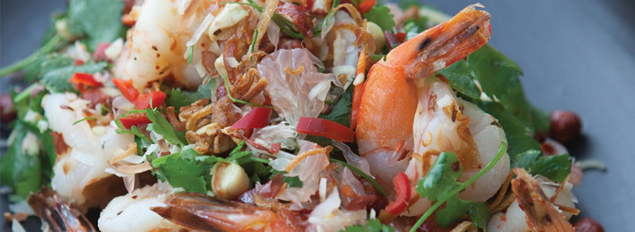 Recipe: Prawn, Pomelo & Toasted Coconut Salad