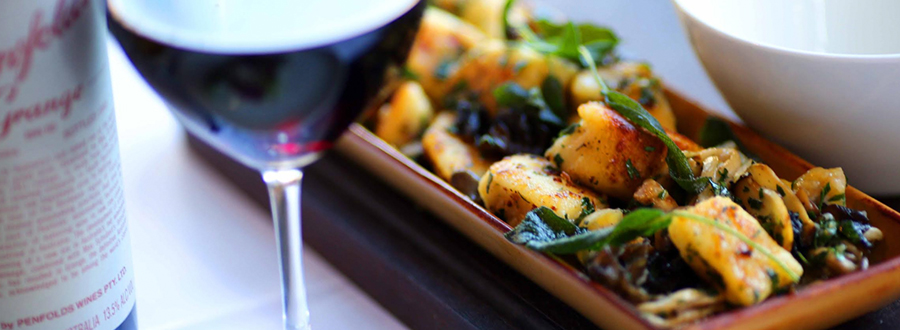 Meat Fish Wine | Chestnut Gnocchi with Sautéed Mushrooms and Sage Recipe