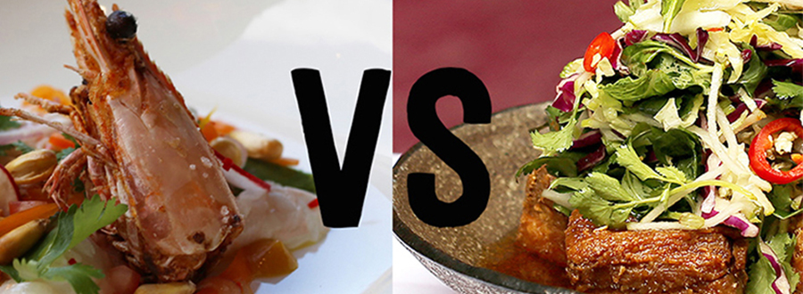 Meat Fish Wine vs. Red Spice Road