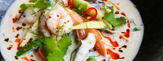 Recipe: Tom Kha with Prawn & Chicken