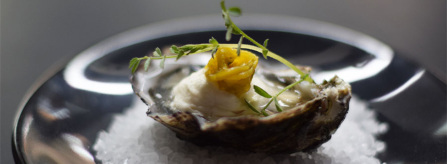Recipe: Oysters with Peach Bellini Foam – The Perfect Valentine Aphrodisiac