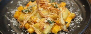 Recipe: Kumara & Potato Gnocchi, Roast Butternut, Sage & Pine Nut Butter