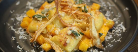 Recipe: Kumara & Potato Gnocchi, Roast Butternut, Sage & Pine Nut Butter