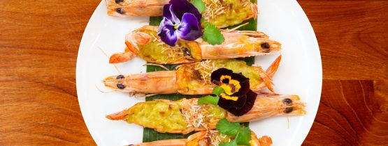 Recipe: Roasted King Prawns w/ Coconut Mustard Sauce